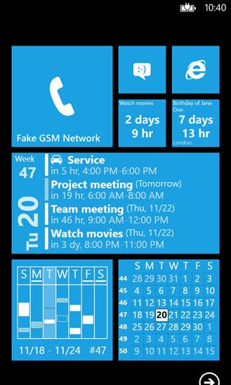 Windows Phone Calendar Apps - Small Biz ...