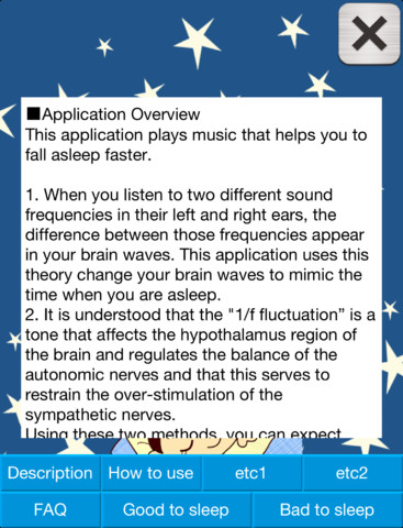 sleep application