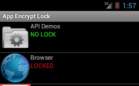app encrypt lock