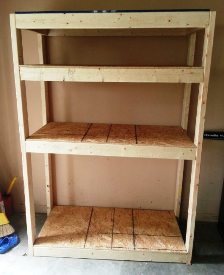 garage storage shelf