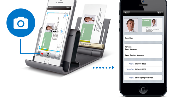 Manage Your Business Cards With WorldCard Mobile Phone Kit
