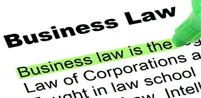 legal business law