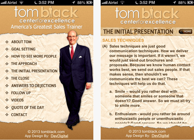 sales training apps