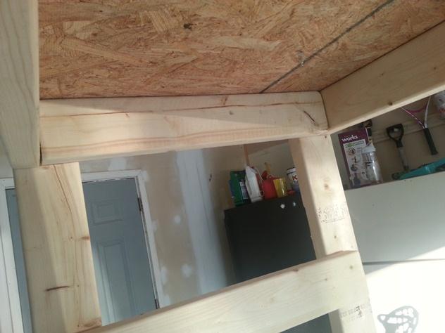 garage storage shelf