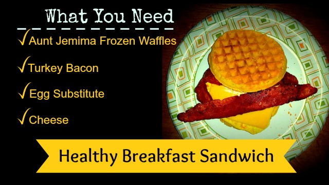 breakfast on the go #4MoreWaffles #shop