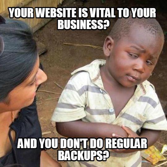 site auto backup