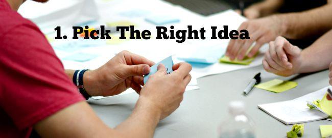 app monetization pick the right idea