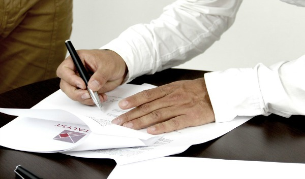 sign contracts