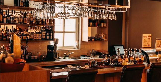 business trip bar